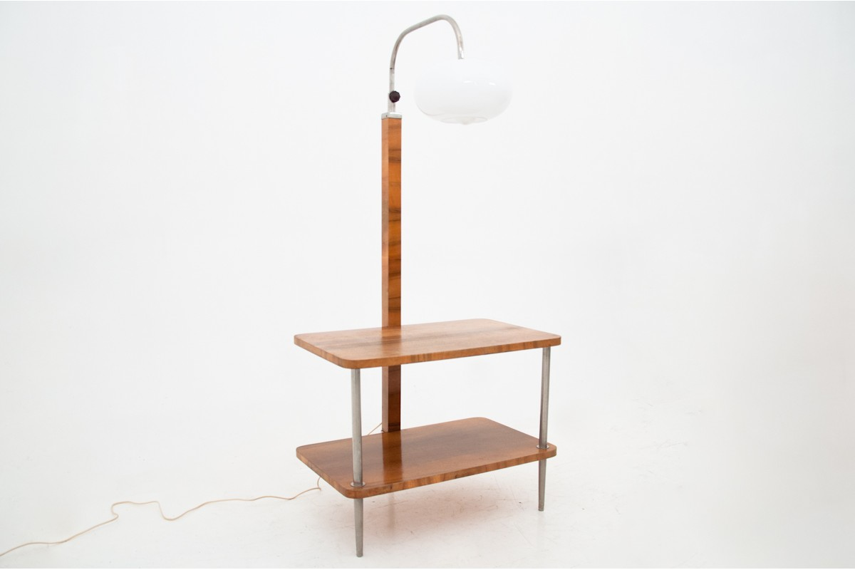 Floor Lamp With A Table 1940s